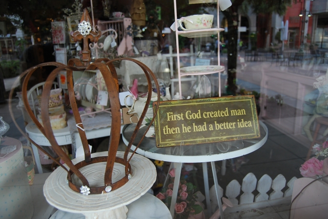 Antique WIndow Display